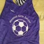 Westhill Girls Soccer Pinnies – Westhill Reversible Jerseys – Westhill Soccer Reversible Jerseys