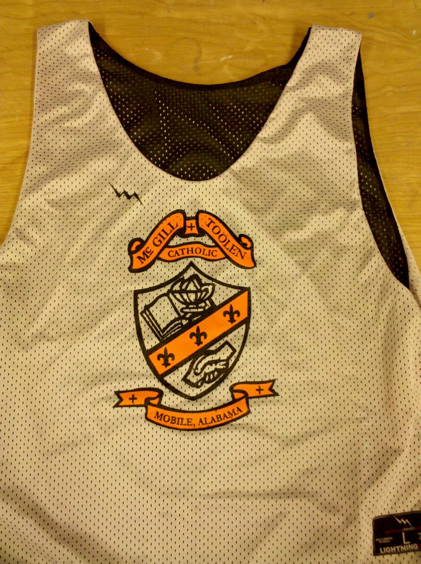 mcgill catholic pinnies