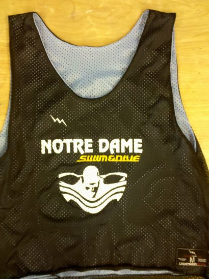 notre dame pinnies
