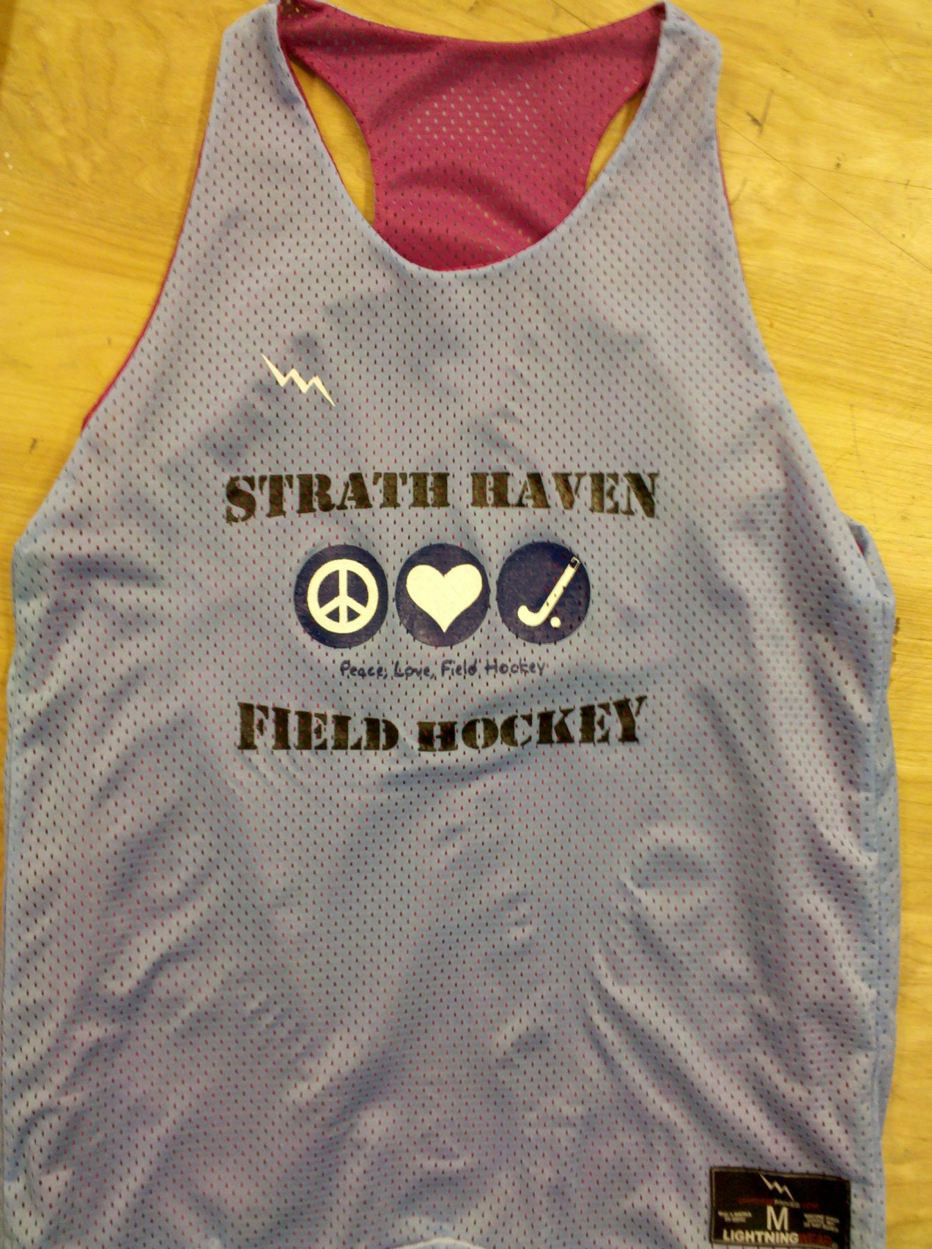 strath haven pinnies - field hockey pinnie