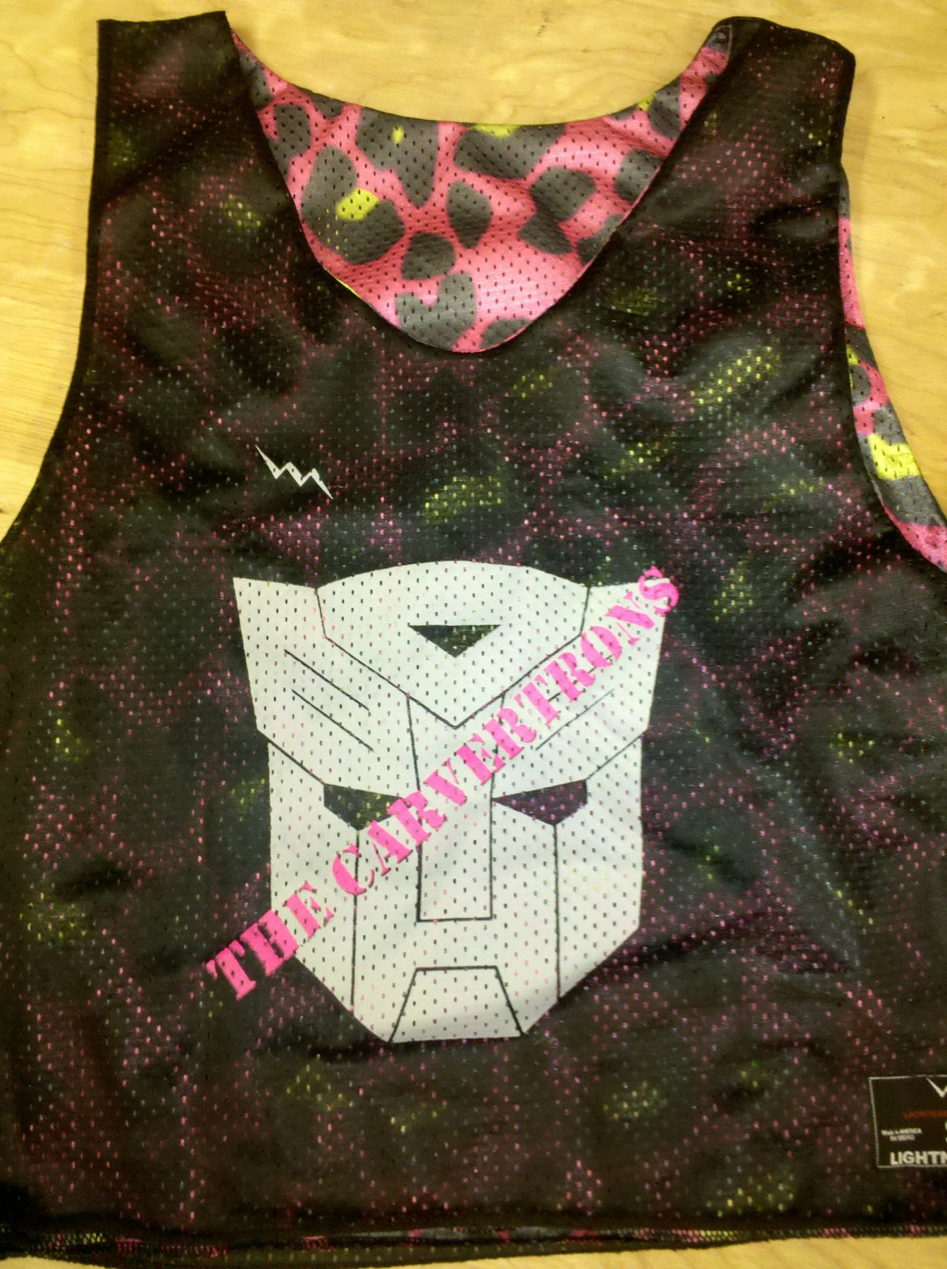 the carvertrons pinnies