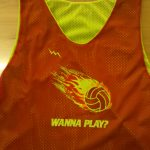 Wanna Play Volleyball Pinnies