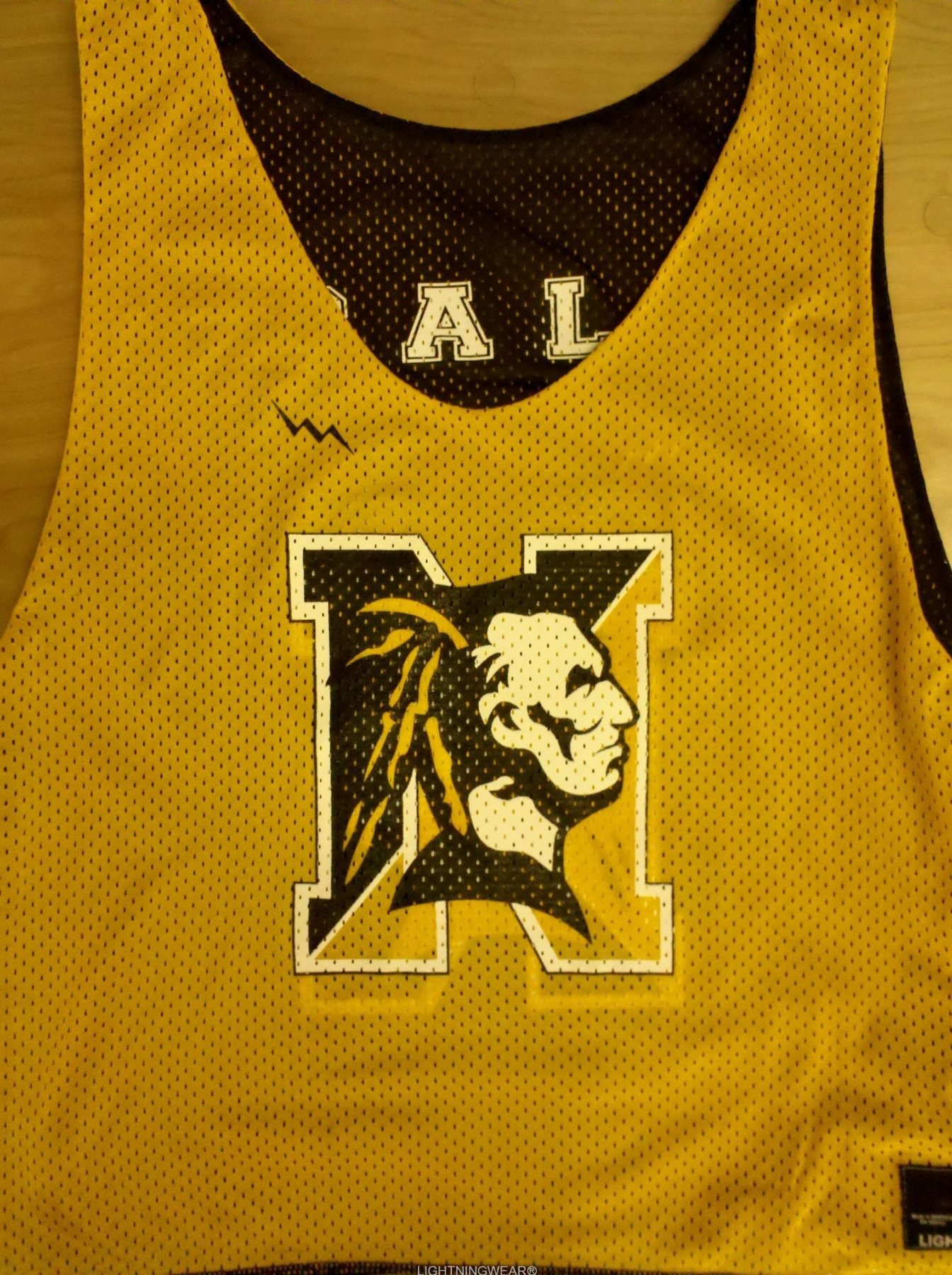 warrior lacrosse pinnies