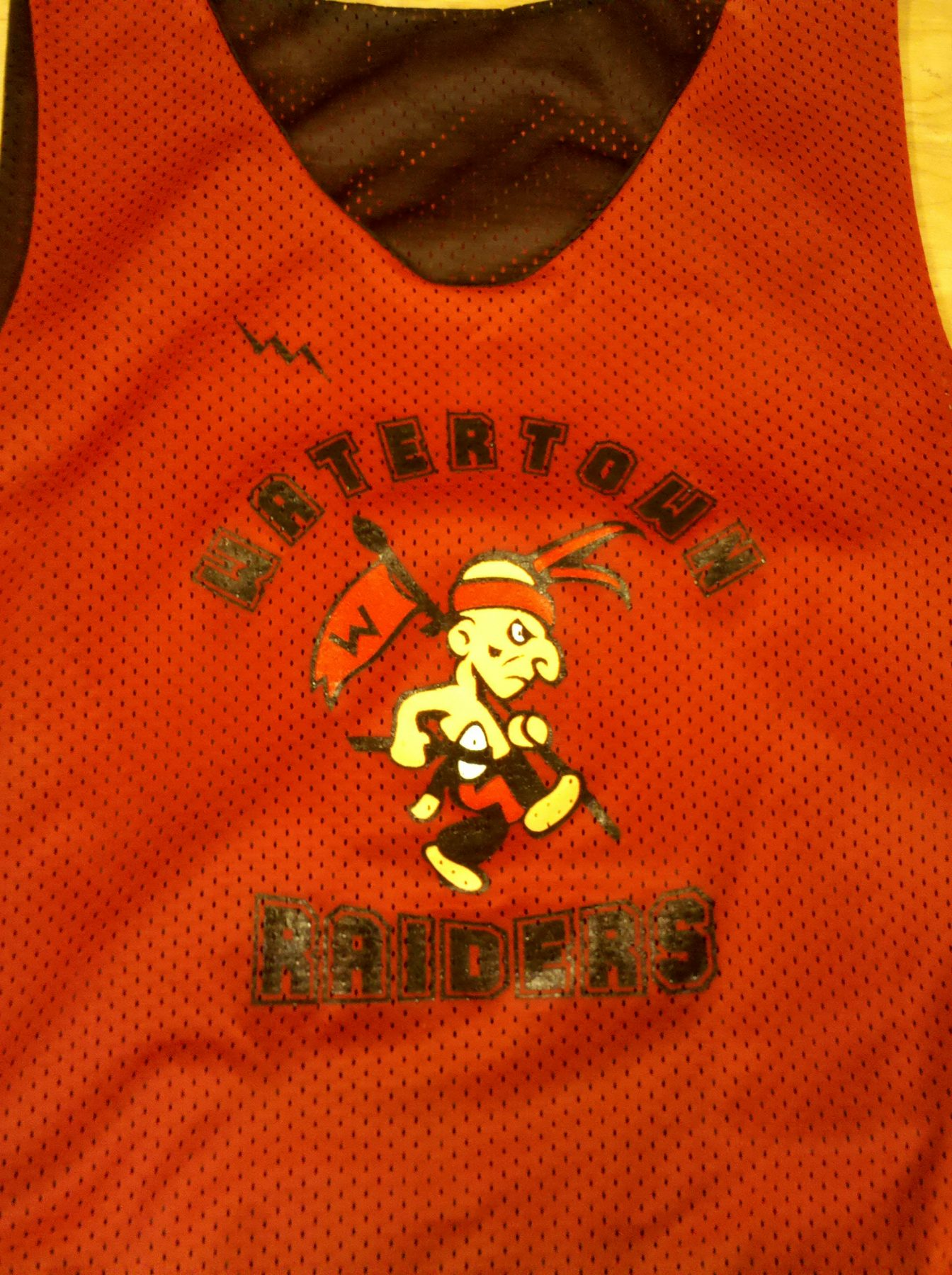 watertown raiders pinnies