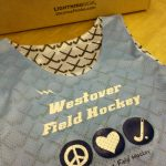 Light Blue Field Hockey Pinnies