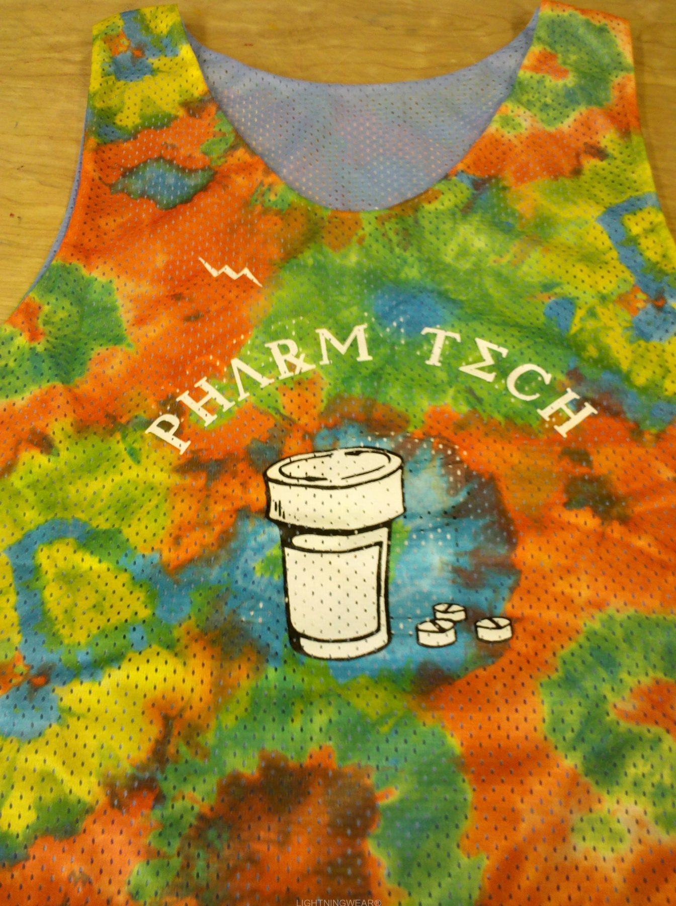 pharm tech pinnies