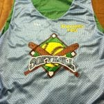 Light Blue Softball Pinnies
