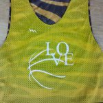 Tiger Stripe Basketball Pinnies