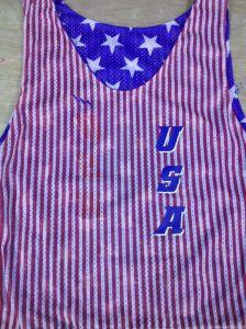 USA Striped Pinnies