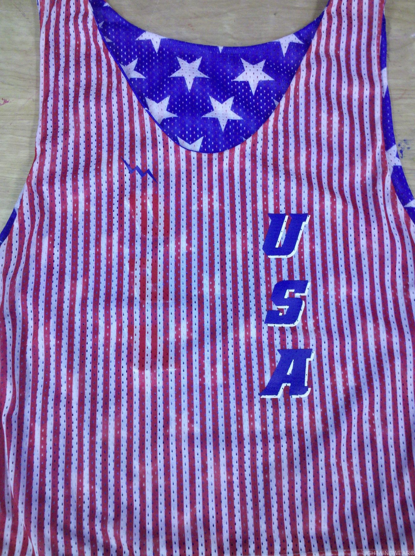 usa stars and stripes pinnies