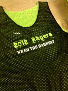 2012 ragers pinnies
