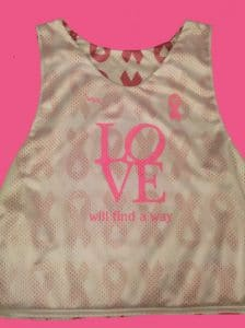 Love Cancer Ribbon Pinnies