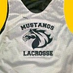 Mustang Lacrosse Pinnies