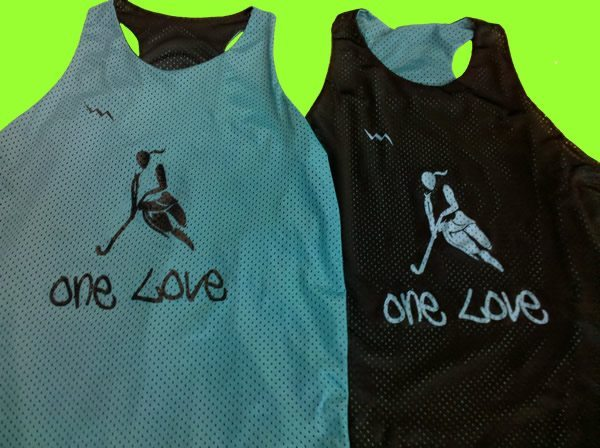 one love reversible pinnies