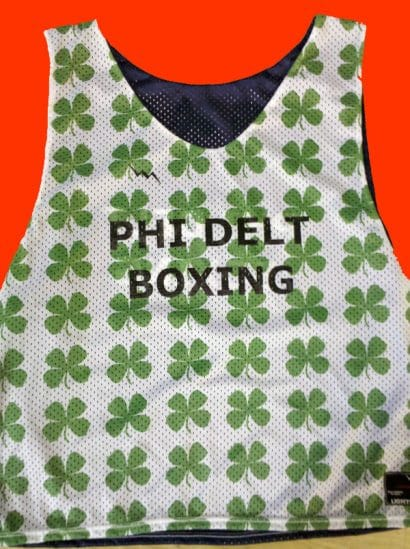 phi delt boxing pinnies