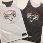 Custom Softball Practice Pinnies