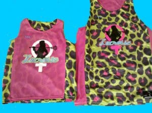 Womens Reversible Lacrosse Jerseys