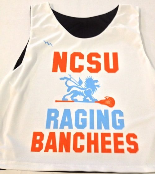 ncsu raging banchees lax pinnies
