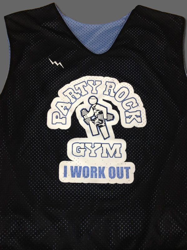 Party Rock Gym Pinnies