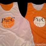 Orange Basketball Pinnies