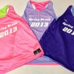 Spring Break Party Pinnies