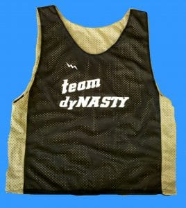 Team Dynasty Lax Pinnies