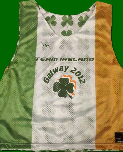 team ireland galway pinnies