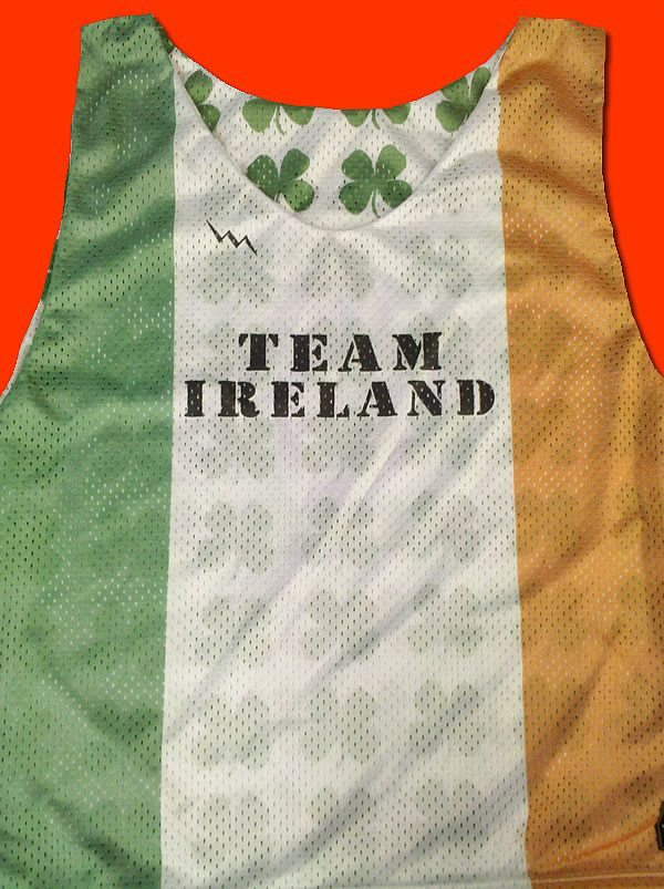 team ireland pinnies