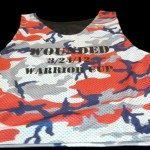 Red Camouflage Reversible Jerseys