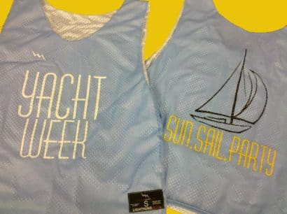 yacht week pinnies