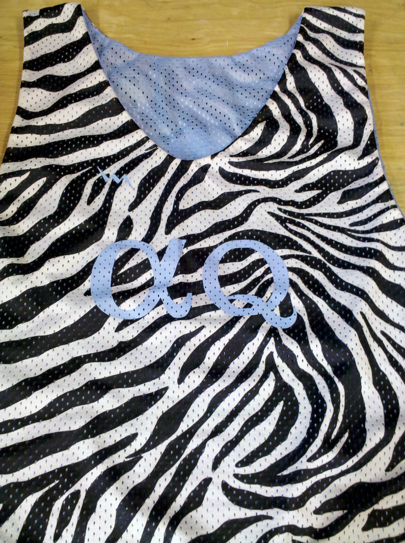 zebra pinnies