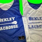 Bexley Lacrosse Pinnies