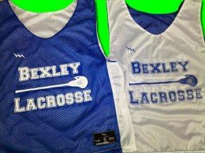 Bexley Lacrosse Pinnies