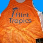 Flint Tropics Basketball Pinnies – Custom Basketball Reversibles – Medway Massachusetts Pinnies