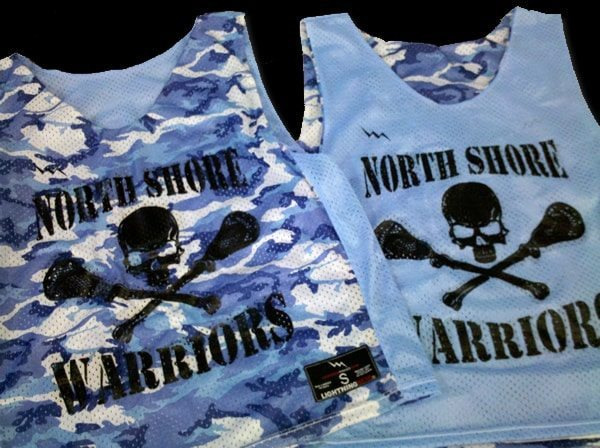 north shore wariors pinnies