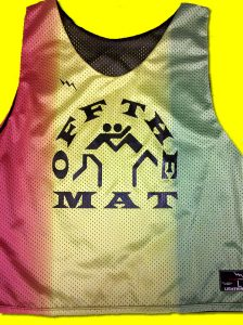 off the mat pinnies