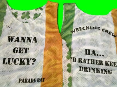 parade day pinnies