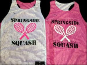 springside squash pinnies