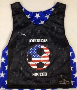 USA Stars Soccer Pinnies