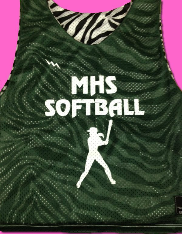 mhs softball pinnies