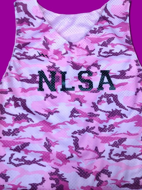 nlsa camo pinnies