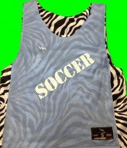 Pennsylvania soccer pinnies
