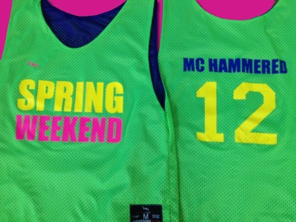 spring weekend pinnies