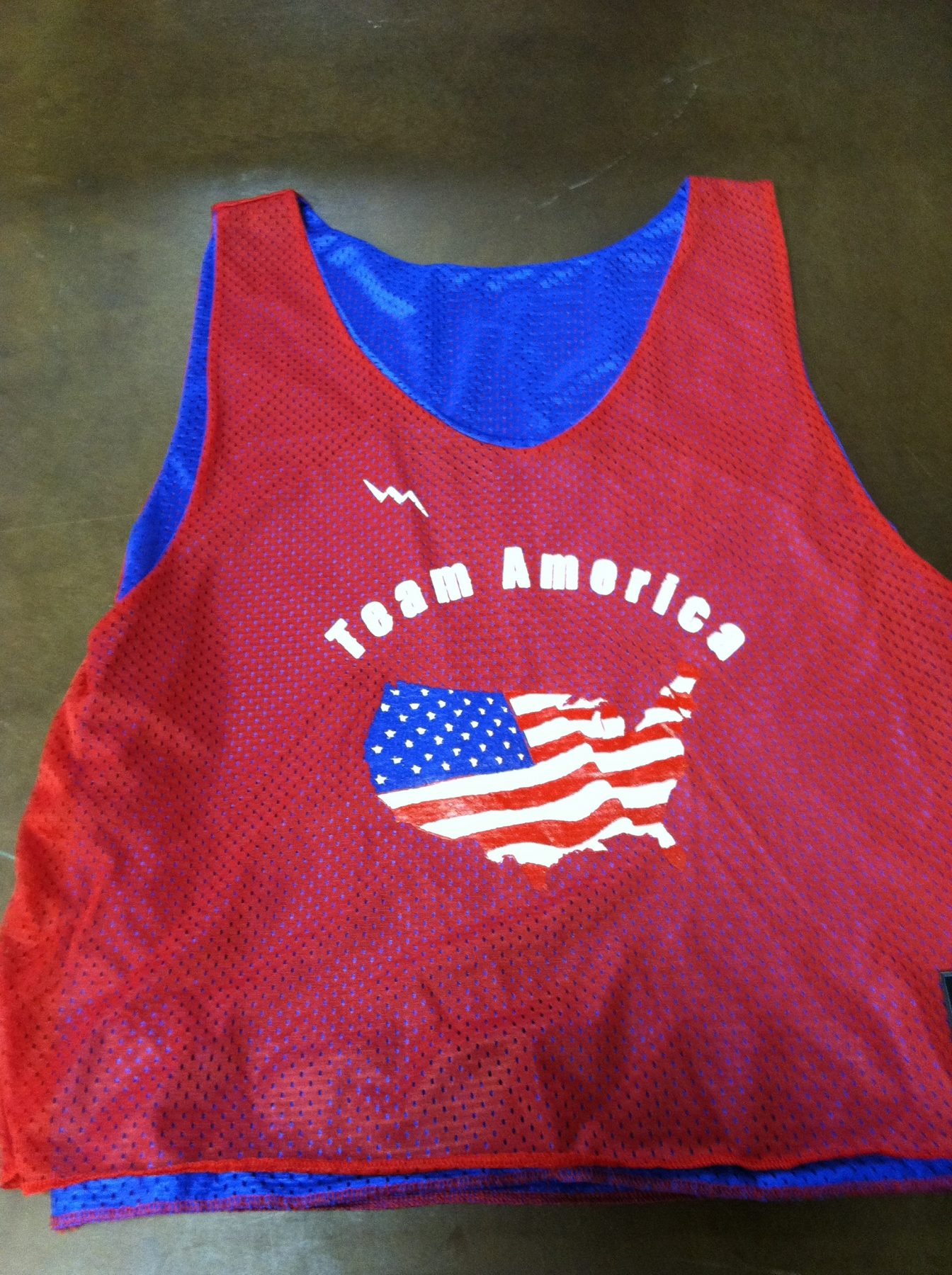team america pinnies
