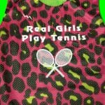 Real Girls Play Tennis Pinnies