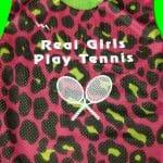 Real Girls Play Tennis Pinnies