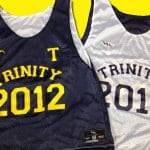 Trinity Pinnies – Trinity Senior Pinnies – Navy and Gold Pinnies – New York Pinnies