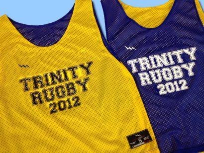 trinity rugby pinnies