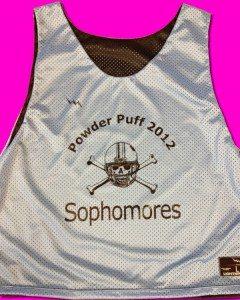 Sophomore Powderpuff Pinnies