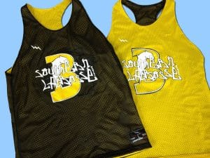 southern lacrosse pinnies